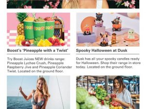 Pineapples. Halloween. Swimwear. Markets.