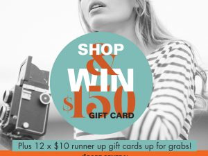 Shop and WIN!