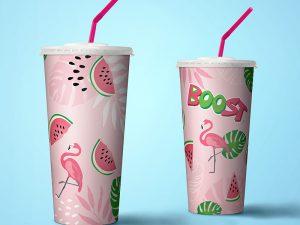 Decorate a Boost Juice Cup