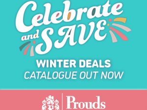 Save with Prouds Winter Catalogue