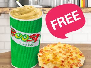 FREE Lunch with Boost Juice and Bakers Delight